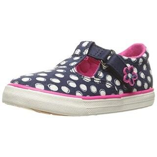 Keds Girls Daphne Toddler Polka Dot Casual Shoes - 5 medium (b,m)