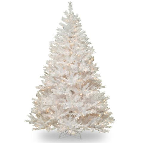 7' Winchester Pine Christmas Tree - Multi-Color Lights - 7 Foot