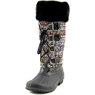INC International Concepts Lorinah Women Canvas Multi Color Winter Boot