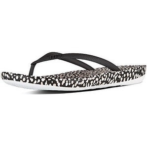 Fit Flop Womens Iqushion Ergonomic Flip-Flops