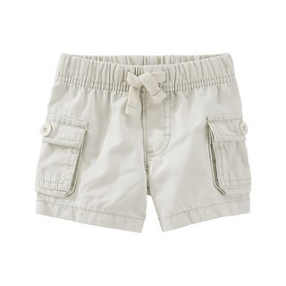 OshKosh B'gosh Baby Boys' Pull-On Cargo Shorts, 9 Months