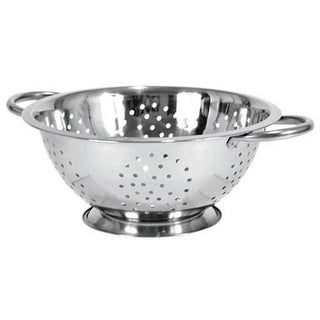 Heuck 36012 Deep Colander, Stainless Steel, 5 Quart