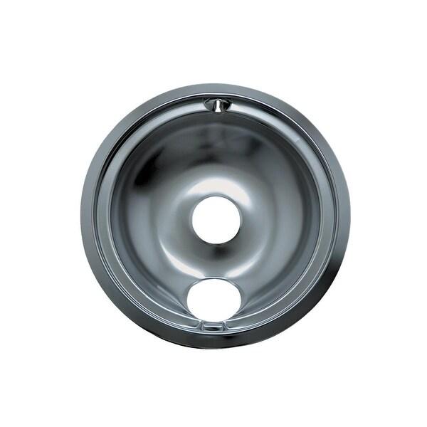 "Range Kleen 6"" Chrome Drip Pan"