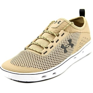 Under Armour Kilchis Men Round Toe Leather Tan Running Shoe