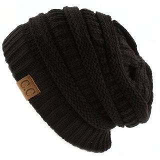 Trendy Warm CC Chunky Soft Stretch Cable Knit Soft Beanie Skully, Black|https://ak1.ostkcdn.com/images/products/is/images/direct/c33185c1a0da242eaab40538966946caffd7ef91/Trendy-Warm-CC-Chunky-Soft-Stretch-Cable-Knit-Soft-Beanie-Skully%2C-Black.jpg?_ostk_perf_=percv&impolicy=medium
