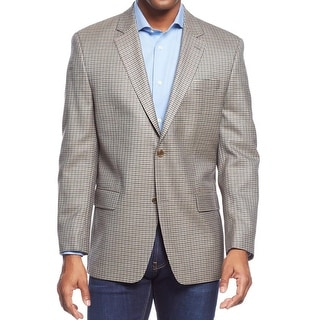 MICHAEL Michael Kors Mens Sportcoat Silk Plaid