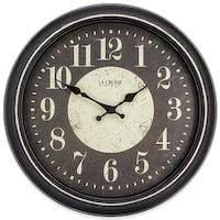 La Crosse Technology 404-2640 15.75 in. Plastic Wall Clock