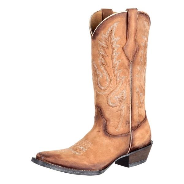 Durango Western Boots Womens Dream Catcher Narrow Square Tan