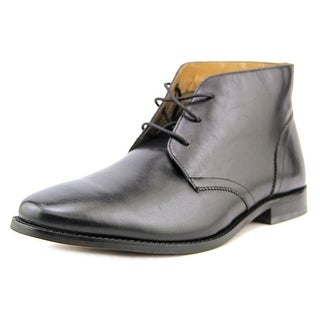 Florsheim Montinaro Chukka Men  Round Toe Leather Black Chukka Boot
