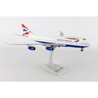 British Airways Boeing 747-400 G-CIVY with gears 1-200 Model