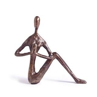 Danya B ZD9082 Bronze Female Yoga Twist Figurine