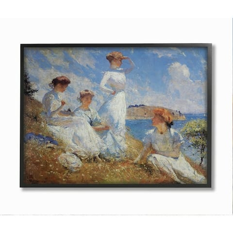 Stupell Industries Summer 1909 Classical Painting Style Framed Wall Art - Multi-Color