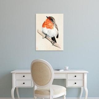 Easy Art Prints Jennifer Paxton Parker's 'Little Bird on Branch IV' Premium Canvas Art