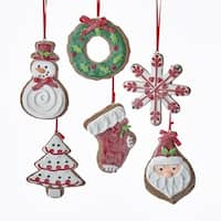 "Club Pack of 12 Vibrantly Colored Christmas Celebration Ornaments 3.62"" - WHITE"