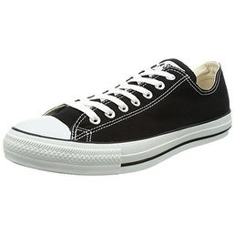 CONVERSE Chuck Taylor All Star Low Mens Shoes, Size 8.5, Black