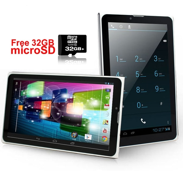 Indigi® 7inch Factory Unlocked 3G SmartPhone 2-in-1 Phablet Android 4.4 KitKat Tablet PC w/ 32gb microSD Included