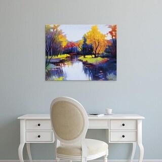 Easy Art Prints Tadashi Asoma's 'Daybreak' Premium Canvas Art