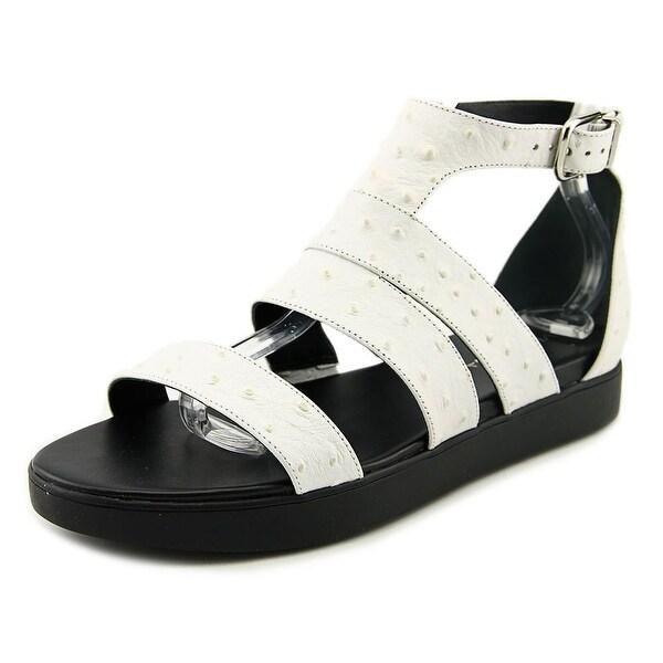 Via Spiga Cora Women Open Toe Leather White Gladiator Sandal