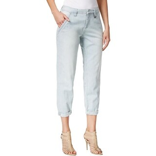Jag Jeans Womens Boyfriend Jeans Denim Mid-Rise