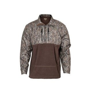 Rocky Outdoor Shirt Mens Waterfowl Fleece Bottomland Camo HW00171