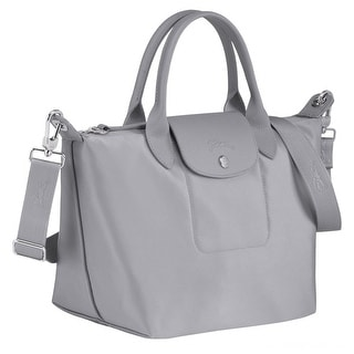 Link to Longchamp Womens Le Pliage Neo Ciment Gray Top Handle Bag Similar Items in Shop By Style