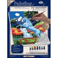 "Unicorn - Paint By Number Kit Artist Canvas Series 9""X12"""