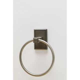 Residential Essentials 2586 6-3/8 Inch Diameter Towel Ring from the Hamilton Col