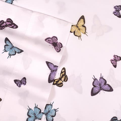 Butterflies Kids Sheet Set