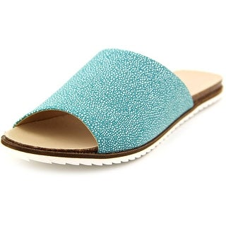 Coconuts By Matisse Lounge Women  Open Toe Synthetic Blue Slides Sandal