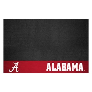 University of Alabama Vinyl Grill Mat