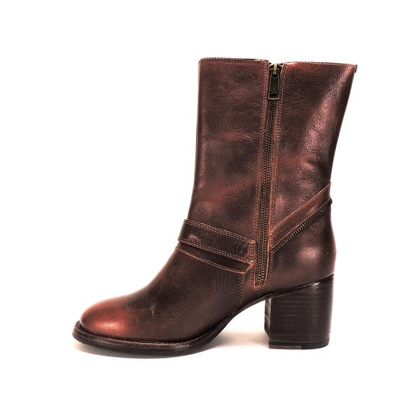 88b3130cef7 Shop Patricia Nash Womens Lombardy Leather Almond Toe Mid-Calf ...