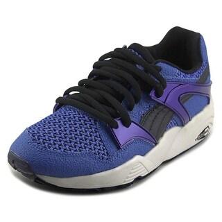 Puma Blaze Knit Women  Round Toe Synthetic Blue Sneakers