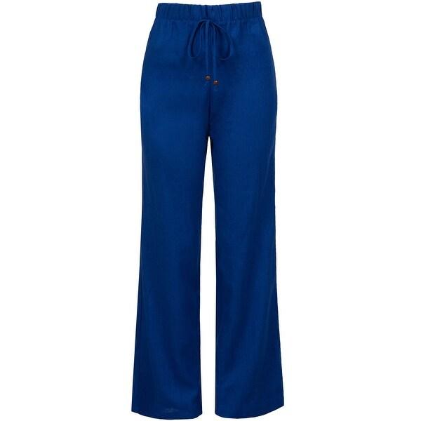 NE PEOPLE Women's Wide Leg Palazzo/Chiffon Casual Pants 1X-3X