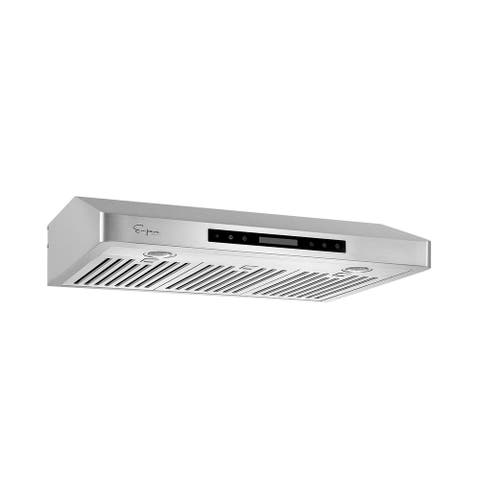 Empava 36 in. 500 CFM Ducted Under Cabinet Range Hood with Soft Touch Controls