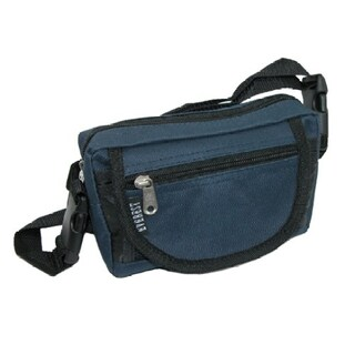 Everest Fabric Big and Tall Waist Pack/Belt Bag Extended Size (Option: Navy)