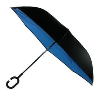 ShedRain Reverse Closing UnbelievaBrella Umbrella|https://ak1.ostkcdn.com/images/products/is/images/direct/c3401e8dbe4022641210b918af148fe5c14840b2/ShedRain-Reverse-Closing-UnbelievaBrella-Umbrella.jpg?impolicy=medium