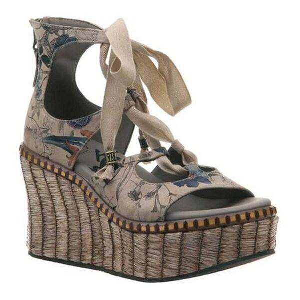 4bf709202 Shop OTBT Women s Kentucky Gladiator Sandal New Beige Suede - On ...