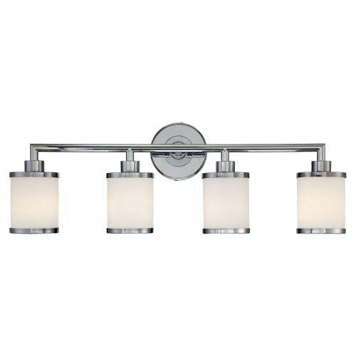 Millennium Lighting 224 4 Bathroom Vanity Light - Chrome