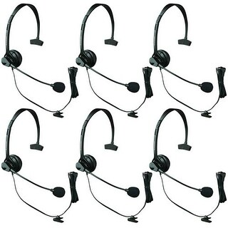"""Panasonic KX-TCA60 (4 Pack) Over the Head Headset"""