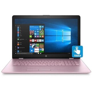"""HP 17-bs016ds Intel Core i3 17.3"""" Touchscreen Notebook (Certified Refurbished)"""