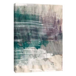"""PTM Images 9-105768  PTM Canvas Collection 10"""" x 8"""" - """"Raw Coast 2"""" Giclee Abstract Art Print on Canvas"""