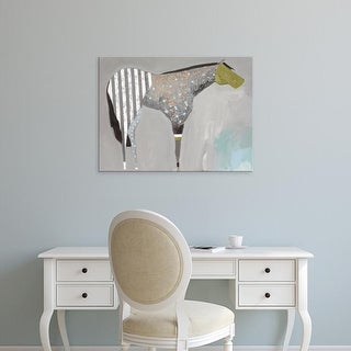 Easy Art Prints Anthony Grant's 'Horse No. 63' Premium Canvas Art