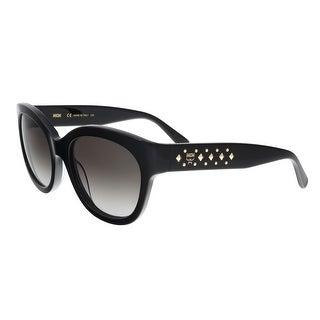 MCM606S 001 Black Cat Eye Feline Sunglasses - 56-20-140