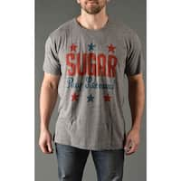 Roots of Fight Sugar Ray Leonard Average Fit T-Shirt - Triblend Gray