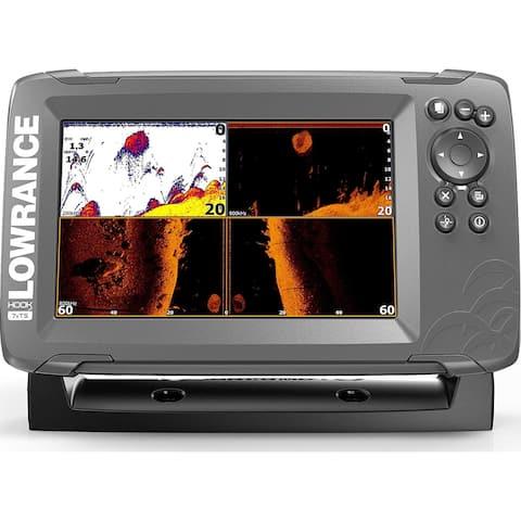 Lowrance HOOK2-7x GPS TripleShot Fishfinder HOOK2-7x 7inch GPS TripleShot Fishfinder