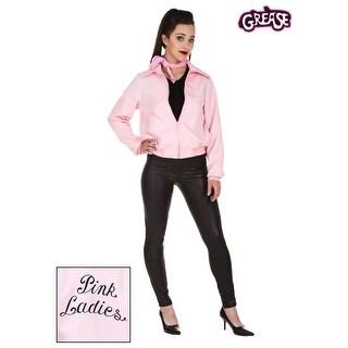 Plus Size Deluxe Pink Ladies Jacket