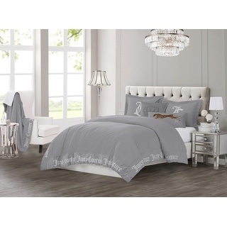 Link to Juicy Couture Gothic 3 Piece Comforter Set, King, Grey Similar Items in Comforter Sets