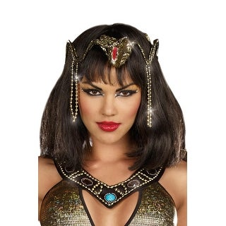 Dreamgirl Snake Crown - Gold/Red