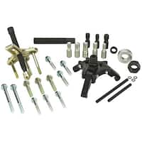 Powerbuilt 33 Piece Harmonic Balance Puller and Pulley Installer Kit - 648616