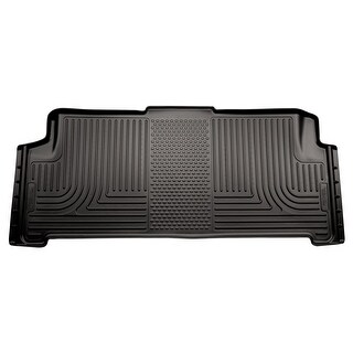 Husky Weatherbeater 2008-2016 Chrysler Town & Country Stow-N-Go 2nd Row Black Rear Floor Mats/Liners